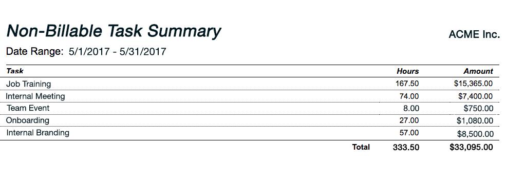 sample attorney time billing sheet