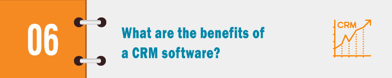 What are the benefits of a CRM software banner