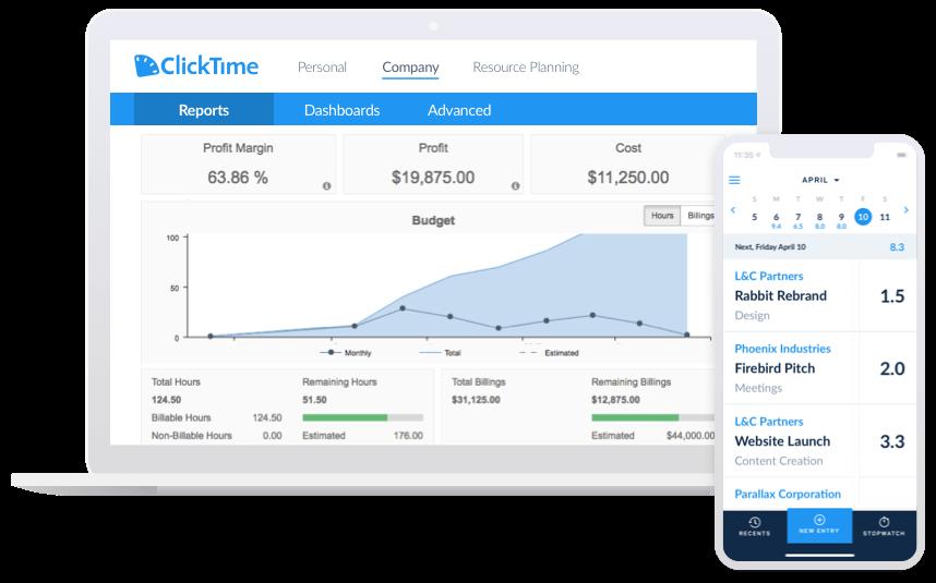 QuickBooks Desktop Time Tracking | ClickTime
